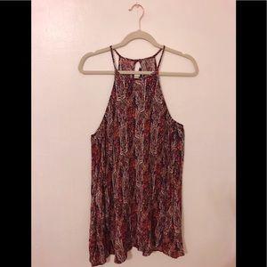 Pink Paisley AE Dress